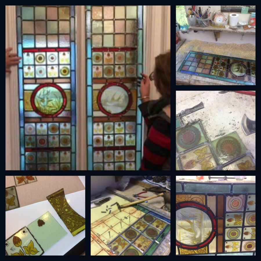 handmade fair,a touch of glass studio, blog, restoration